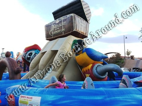 Pirate themed inflatable rentals Phoenix
